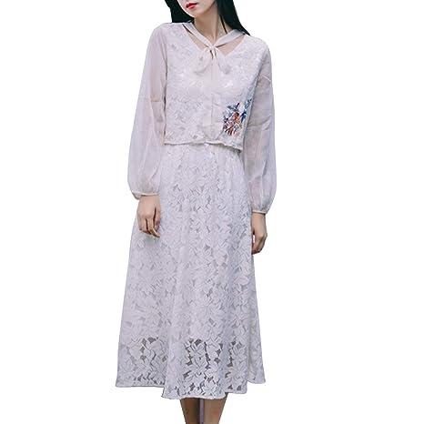 Vestido de Mujer Top + Falda del Busto, Traje de Dos Piezas ...