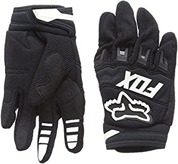 Fox Racing 2016 Dirtpaw Race Youth Boys MX Motorcycle Gloves - Black / Small