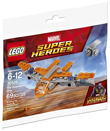 Lego Marvel Avengers Infinity War The Guardians Ship  30525  Bagged