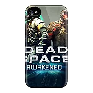 LauraAdamicska Iphone 4/4s Perfect Cell-phone Hard Covers Allow Personal Design Colorful Metallica Pattern [JFb17645nFpf]