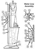 Somaca/CRL Parker Gold Ring # OF20C-211OACF 1/4'' Port for BM106G Machine