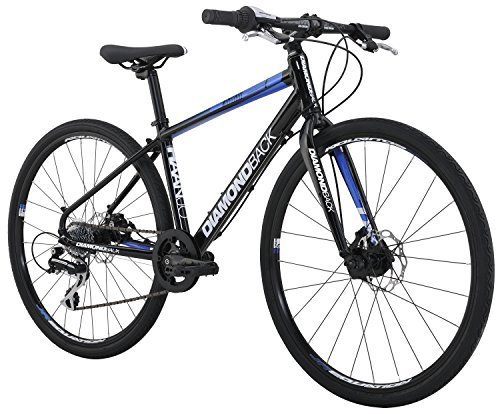"Diamondback Bicycles Youth Haanjo Metro Complete Alternative Road Bike with 24"" Wheels, One Size, Black Diamondback Bikes"
