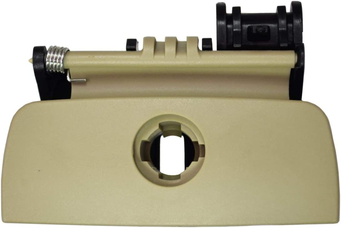 PT Auto Warehouse GM-2316E Beige//Tan Glove Box Compartment Handle