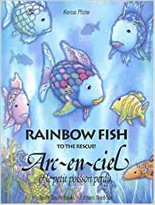 Rainbow fish to the rescue english and french edition for Rainbow fish to the rescue
