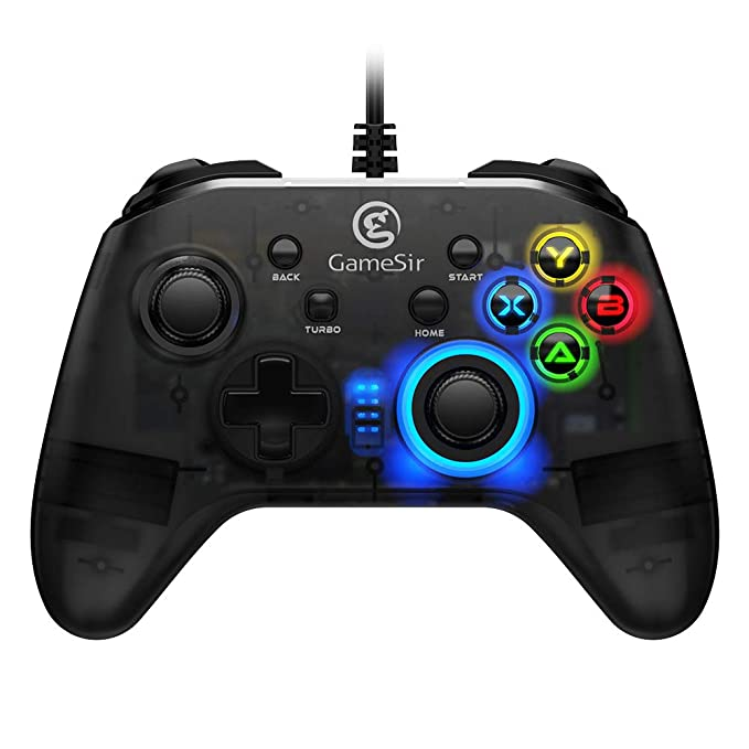 GameSir T4W PC Controller Wired Game Controller for Windows 10/8 1/8/7 Dual  Shock Game Gamepad