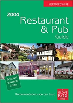 Book Hertfordshire Restaurant and Pub Guide - 2004 (A Glove Box guide)