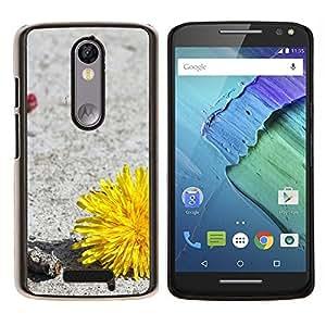 EJOOY---Cubierta de la caja de protección para la piel dura ** Motorola Moto X3 3rd Generation ** --Planta Naturaleza Forrest Flor 34