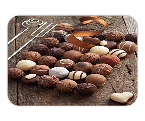 Beshowere Doormat luxury handmade chocolate bonbon assortment of delicious decorative round chocolates with a (Luxury Handmade Chocolates)