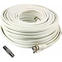 100 Foot Security Camera Cable for Samsung SDH-C75100, SDH-C75080, SDH-C74040, SDH-C73040