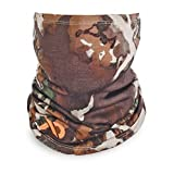 First Lite AeroWool Neck Gaiter, Fusion Camouflage by First Lite