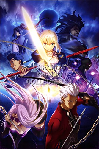 CGC Huge Poster - Fate Stay Night Anime Poster Zero Unlimited Blade Works Feito/Sutei Naito - Rin - FSN018 (24