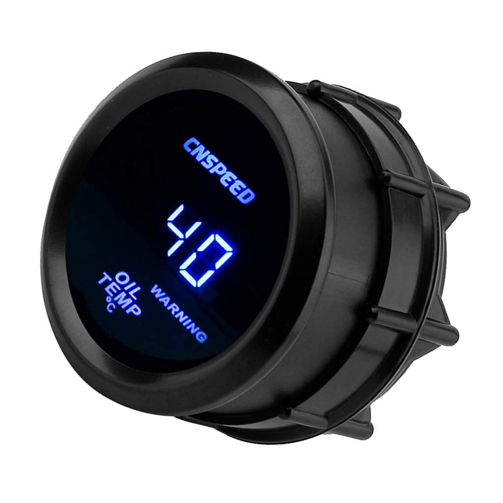 MagiDeal Universal Auto Ö ltemperaturanzeige Zusatzinstrument Sensor Messgerä t mit LED 40-150° C