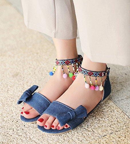 Sandalias planas de las mujeres Zapatillas abiertas de la sandalia del deporte de la hebilla del dedo del pie abierto Venta en busca de Descuento 2018 Nuevo Geniue Stockist en línea Barato Venta Wiki GnaiC5