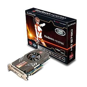 Sapphire Radeon HD 6790 - Tarjeta gráfica ATI (PCI-e, memoria de 1 GB GDDR5, HDMI, DVI, 1 GPU)