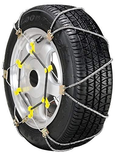 SCC WS1002 (1) SZ319 1/2 Pr. Shur Grip Passenger Car Tire Traction Chain ONLY