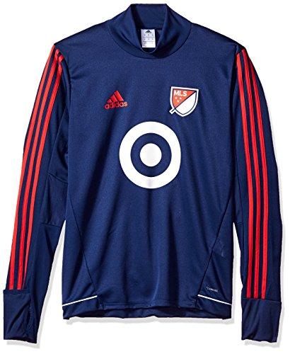 MLS All Star Game Adult Men MLS All Star Game Training Top, XX-Large, Dark (All Star Apparel)