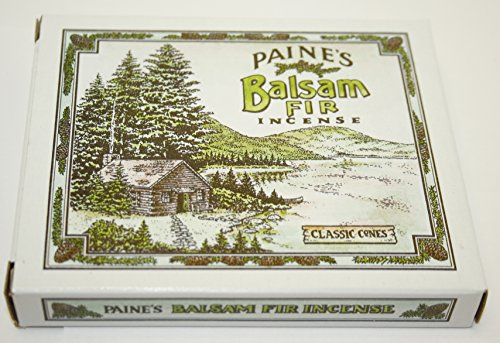 Incense & Burner Comes with 32 Balsam Fir Cones to Burn Wood Holder Lodge Style (Fir Cones Balsam)