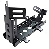 All Goodly 2'' Receiver Trailer only Model Motorcycle Locking Stand w/Mounting Kit Adjustable