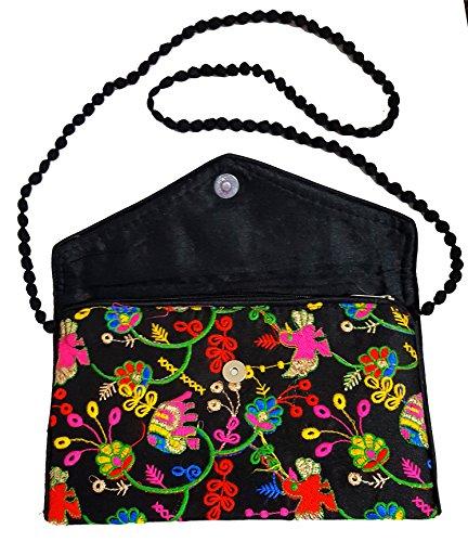 Purse Embroidered Clutch Handbag Party Handmade Indian Wristlet Bridal Bag wan8qTxxSR