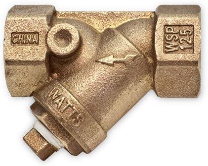 "2/"" NPT Threaded Y-Strainer Lead-Free Brass Wye Strainer"