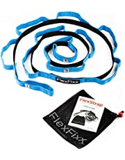 FlexFixx FlexStrap Stretching Strap Band - Stretch Tool for Yoga Physical Therapy