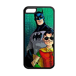 Print With Batman And Robin For Apple 5C Gel Funny Back Phone Case Choose Design 4