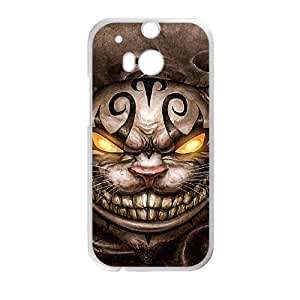 HTC One M8 case, Alice In Wonderland-Cheshire cat Cell phone case for HTC One M8 -PPAW8667229