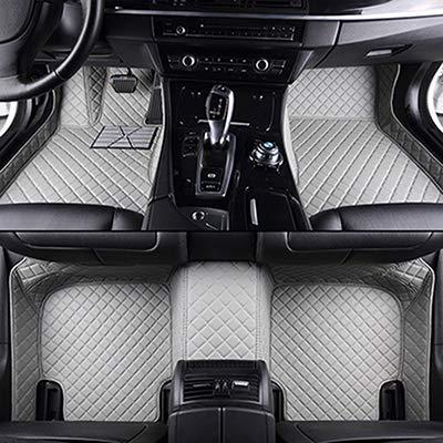 BLACK WITH WHITE TRIM FOR BMW E30 E34 E36 E39 E46 E60 UNIVERSAL CAR FLOOR MATS