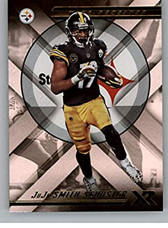 a2056dd7cbb 2018 Panini Xr Football #25 JuJu Smith-Schuster Pittsburgh Steelers  Official NFL Trading Card