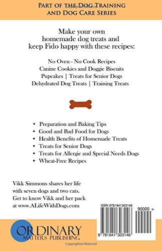 Easy Homemade Dog Treat Recipes Fun Homemade Dog Treats For The Busy Pet Lover Dog Care And Training Band 2 Amazon De Simmons Vikk Fremdsprachige Bucher
