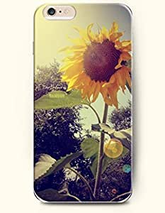 SevenArc Phone Case for iphone 4 4s Inches with the Design of Sunflower booms under the sun