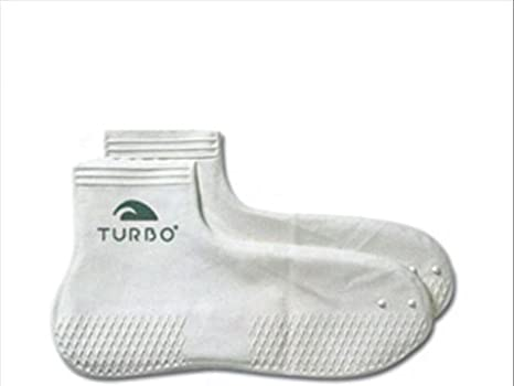 Turbo Latex 97100 Calcetines, Hombre, Blanco, 1