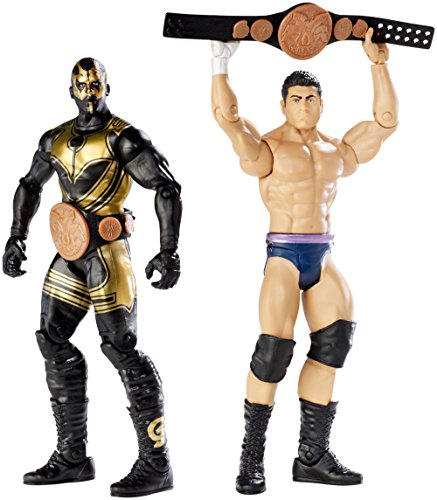 WWE Battle Pack: Goldust & Cody Rhodes with 2 Tag Belts Figure (2-Pack) by Mattel
