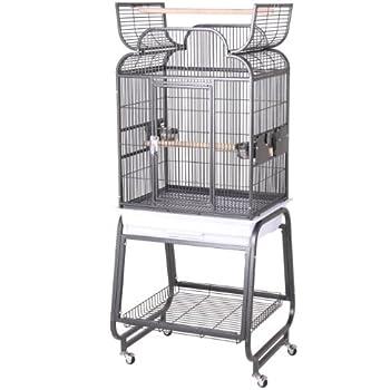 Amazon Com Birdscomfort Hq Flat Open Cockatiel Bird Cage