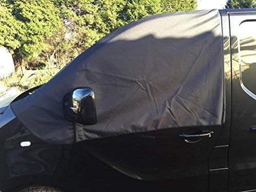Deluxe 2015/2016/Van ventana pantalla para parabrisas negro Frost Opel