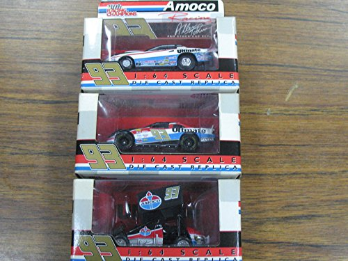 Champion Racing (3 Car Lot Racing Champions 2000 1:64 Dave Dale Blaney Allen Johnson #93 Amoco)