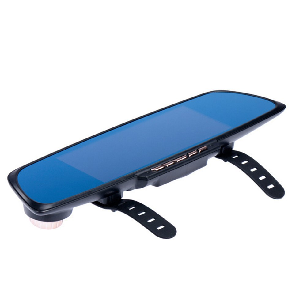 WINOMO 6.86 inch Touch Screen 2 Split View Android GPS Navigation Rear Mirror Car DVR