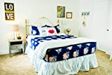 Beddy's Totally Unexpected Zippered Bed Set (Bedding Mattress Cover, Sheets and Zipper Comforter All in One Set) (Twin)