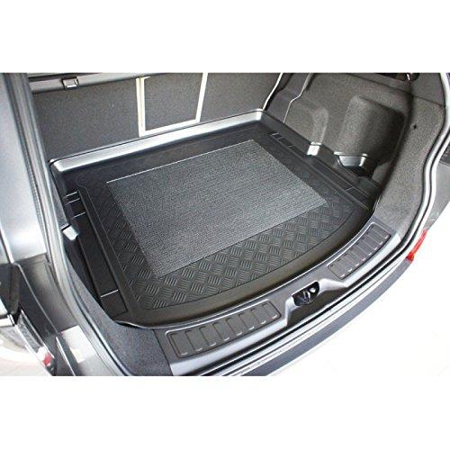 ZentimeX Z747592 Vasca baule su misura con superficie scanalata e integrato tappeto antiscivolo