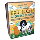 Trader Joe's Natural Dog Treats Assorted Flavors 24 Oz (2 Pack), My Pet Supplies