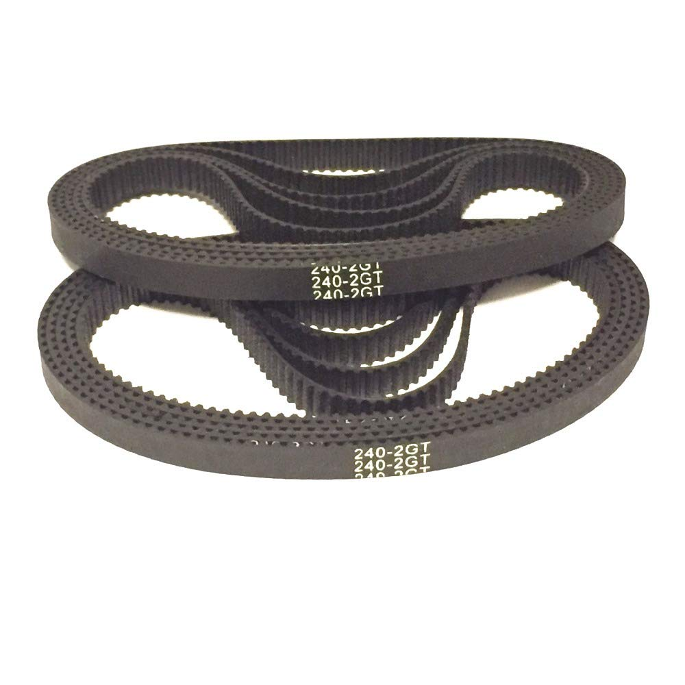 Rubber, D/&D PowerDrive D565-5M-15 Double Sided Timing Belt Pack of 1