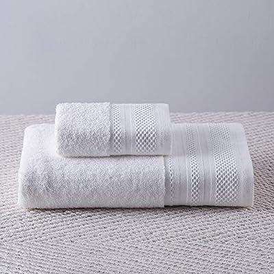 Lxryxx Toalla de baño Hotel Toalla de satén de algodón para Aumentar Engrosamiento Suave Toalla de Playa Absorbente Toalla de Playa, Toalla de baño A