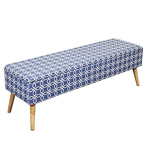Otto Amp Ben 52 Inch Storage Ottoman Bench With Easy Lift