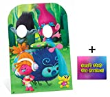 Fan Pack - Trolls Poppy and Branch Child Size Cardboard Cutout Stand-In - Includes 8x10 Star Photo