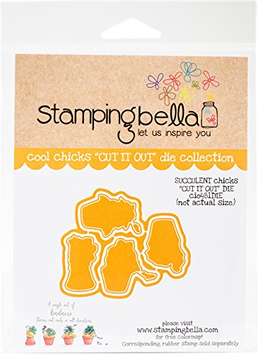Stamping Bella CIO481DIE Cut It Out Dies-Succulent Chicks