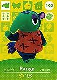 Nintendo Animal Crossing Happy Home Designer Amiibo Card Pango 192/200 USA Version