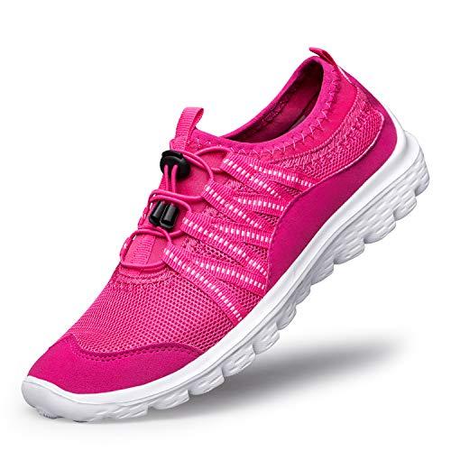 (Belilent Women Walking Shoes Slip on Sneakers Lightweight Walking Shoes Comfortable Work Nursing Casual Athletic Fashion Gym Sport go Walk Yoga Women Shoes)