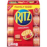 Ritz Original Crackers - Fresh Stacks - Family Size, 17.8 Ounce (Pack of 6)
