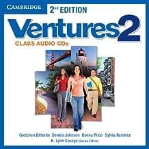 Ventures Level 2 Class Audio CDs (2)