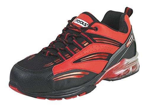 KS Tools 310.1615 Chaussures de sécurité - Modèle coussin d'air rouge T40